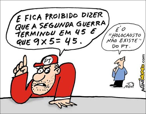 Paranoia petista: Globo não pode dizer que faz 45 anos