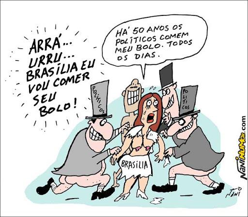 Os 50 anos de Brasília