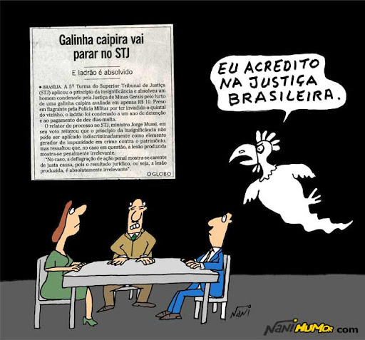 Galinha Caipira vai parar no STJ