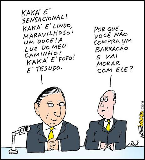 Nani na Copa: Galvão Bueno e Kaká