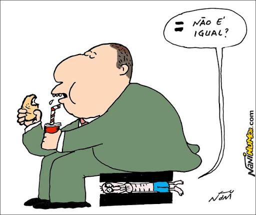 Brasil tem o 3º pior índice de desigualdade