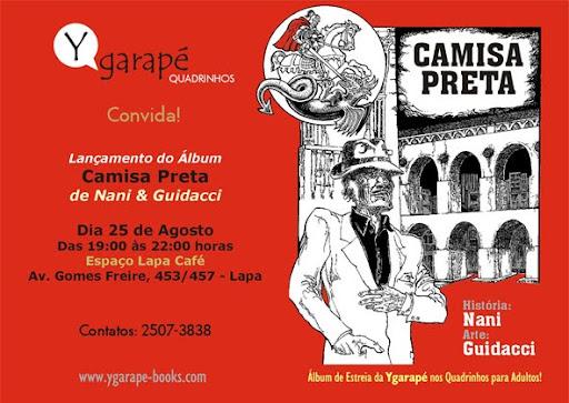 Lançamento de álbum de quadrinhos de Nani e Guidacci