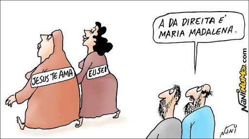 Maria Madalena. Jesus
