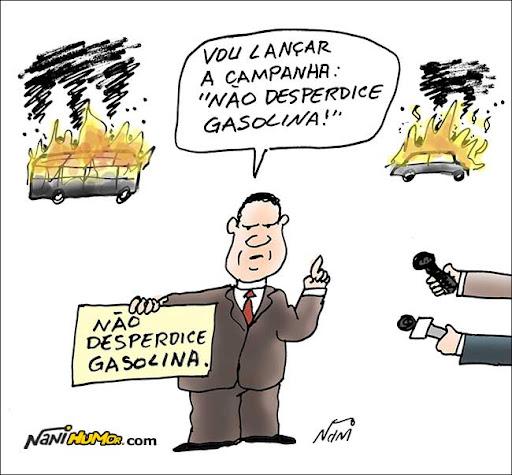 Veículos incendiados no Rio: Sérgio Cabral toma uma atitude
