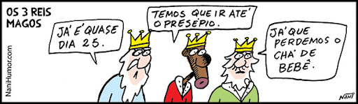 Os 3 Reis Magos. presépio