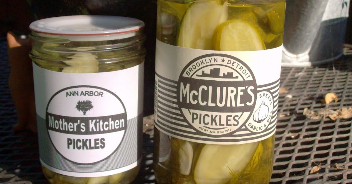 mothers kitchen can jam mcclures pickles my way