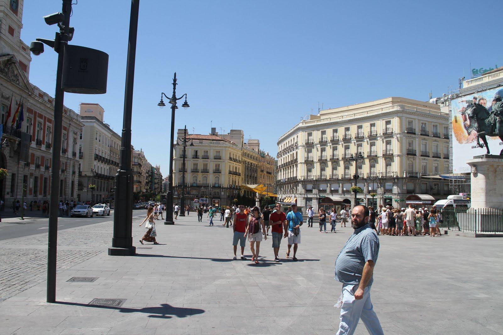 Irnbas76 6 ao t visite de la capitale madrid for Puerta 7 foro sol
