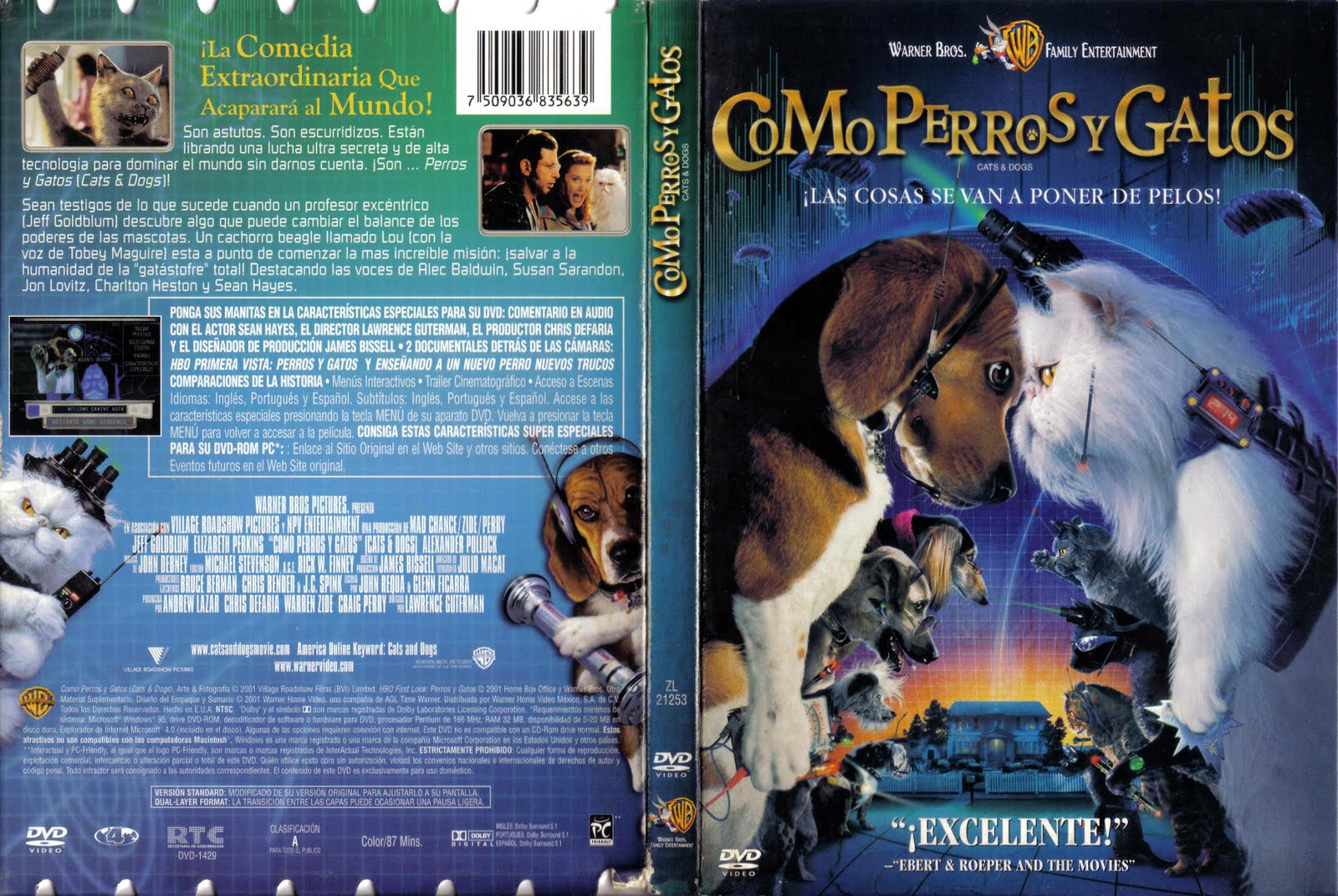 Cats And Dogs Dvd Cover