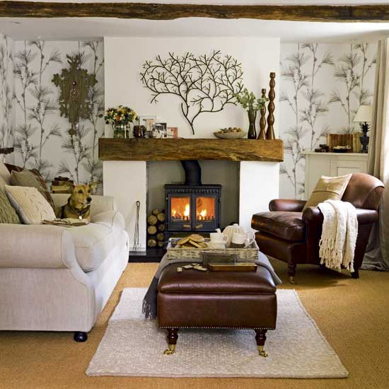 Cozy Living Rooms: Simply Stoked: Cozy