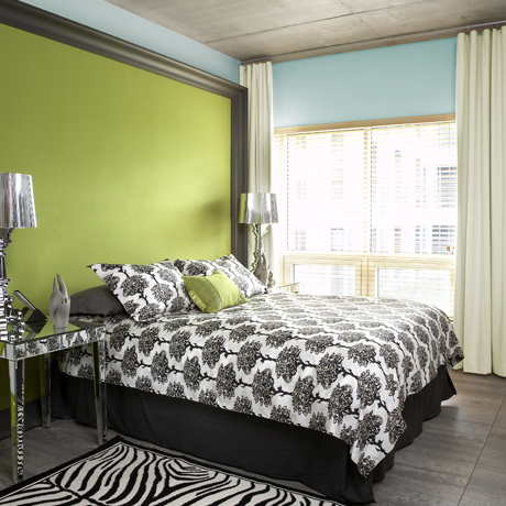 Simply stoked color crush lime green for Accent colors for green walls