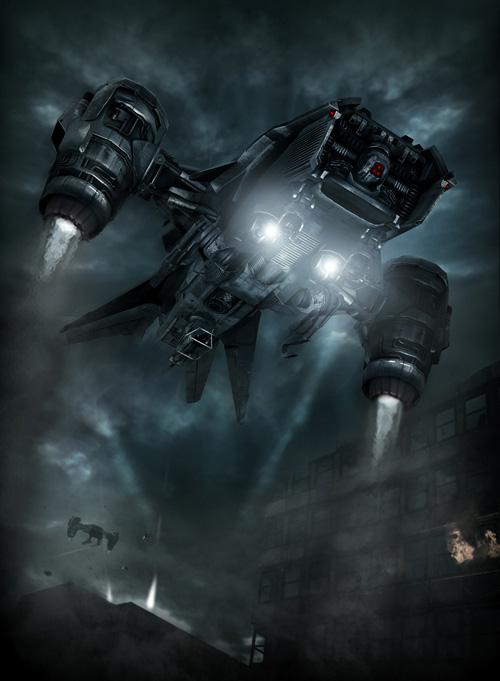 terminator salvation hunter killer art jpgTerminator Salvation Hunter Killer