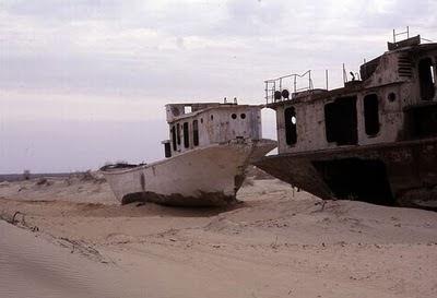 Aral Sea+ 10 789059 Gambar Laut Ke 4 Terbesar Dunia Yang Telah Hilang Tahun 2008