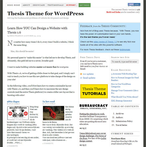 Update Thesis 1.7 Theme by DIYthemes
