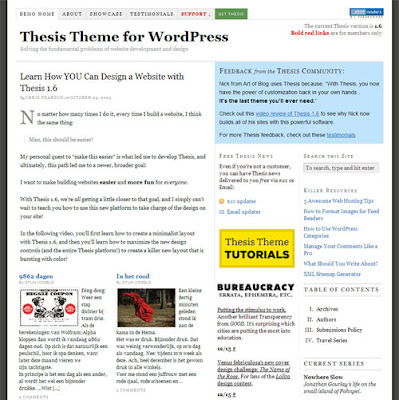 "diythemes thesis tutorials News and updates, thesis 2 tutorials 15 comments matt gross – ""is a developer at diythemes who lives in austin."