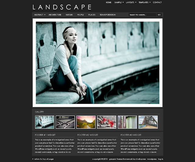 Landscape Child Theme Free Download.