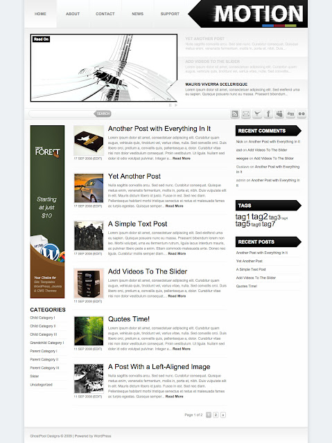 Motion Wordpress Theme by ThemeForest Free Download.