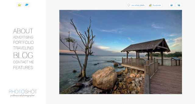 Photoshot - Photography Wordpress Theme Free Download.