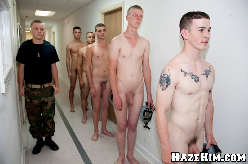 College boys hazing