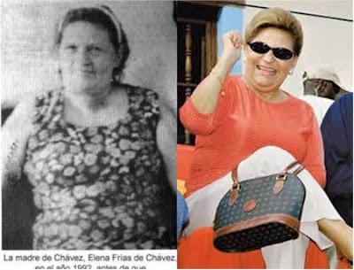La mama de Chavez