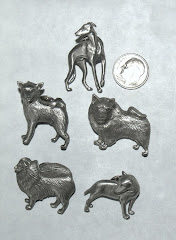 Pewter Dog Pins only $ 1.99 ea + SH