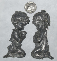 Pewter Kneeling Pray Children Only $3.99 a pair + SH
