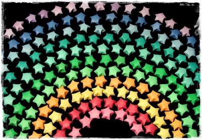 Chunkylicious kawaii crafts d i y origami lucky star for Diy lucky stars