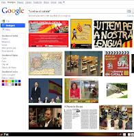 Contra el català, segons Google