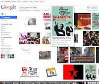 Vaga general i STAS, segons Google
