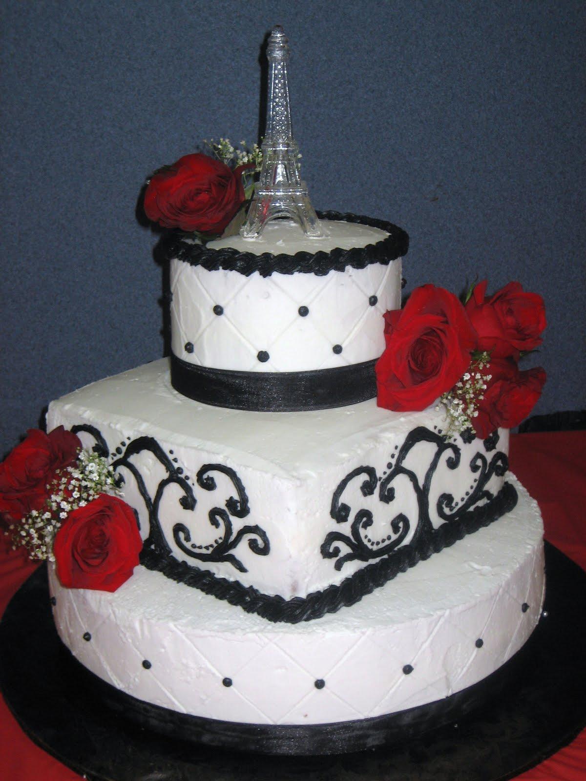 hello cupcake Eiffel Tower Cake