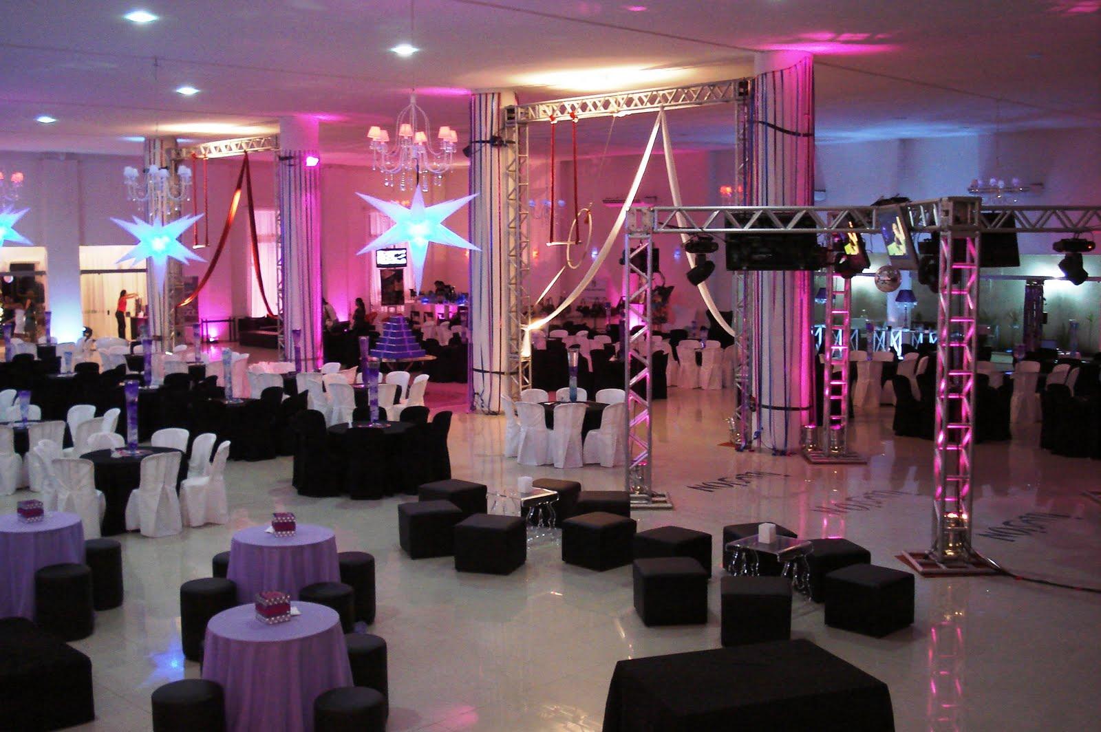Decoração de interiores e eventos Dicas para organizar sua festa