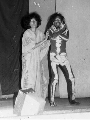 Pementasan Teater 'HANTU HANTU' skrip Omar M. Hashim tahun 1977