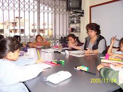 Grupos de alumnos de acuerdo a las edades
