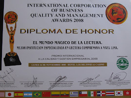 PREMIO INTERNACIONAL A LA CALIDADA &amp; GESTIN EMPRESARIAL, 24 de nov. 2008, Hotel Los Delfines