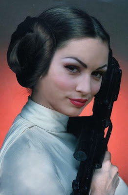 aria giovanni as princess leia