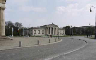 Königsplatz und Glyptothek München