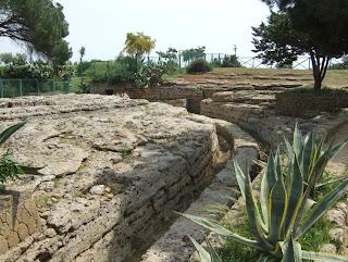 Bild 9: Antike Straße zwischen Villa Hardcastle und Herkulestempel