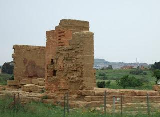 Bild 11: Asklepios-Tempel Agrigent
