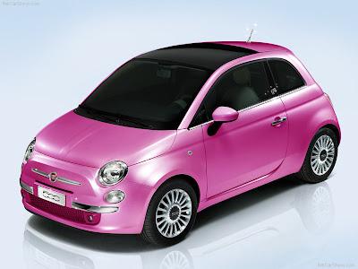 2009 Fiat 500 Barbie Concept. Fiat 500 Barbie Concept