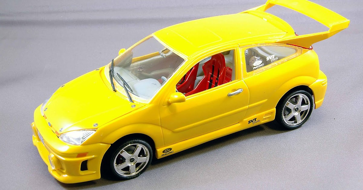 focus zetec timing ls plastic model american cars 2 revell ford focus svt
