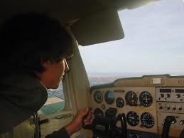 Mio figlio Luca in volo