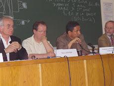 Coloquio organizado por la revista Entropía en la Universidad de París VII, abril de 2009
