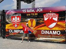 Chisinau, iulie 2010: Olimpia Balti - Dinamo 0-2