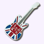 pins guitare Union Jack