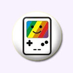 badge gameboy smiley customiZe.fr
