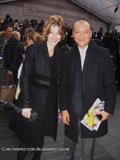 Roberta Myers and Joe Zee