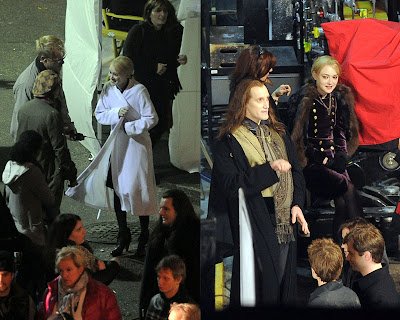 Dakota Fanning and The Volturi