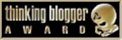 THINKING BLOGGER AWARD X 13