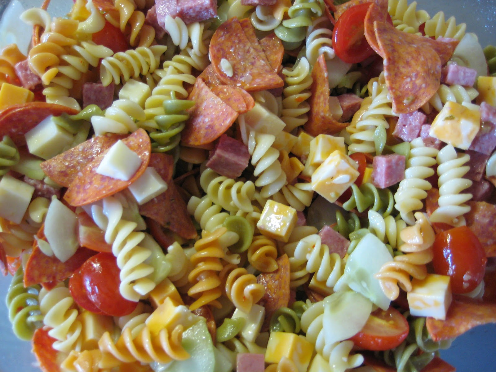 Normal Activities: Awesome Pasta Salad