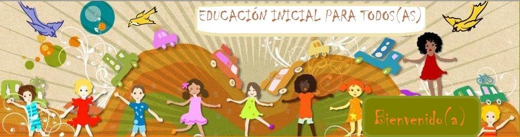 Educación inicial para toda(o)s