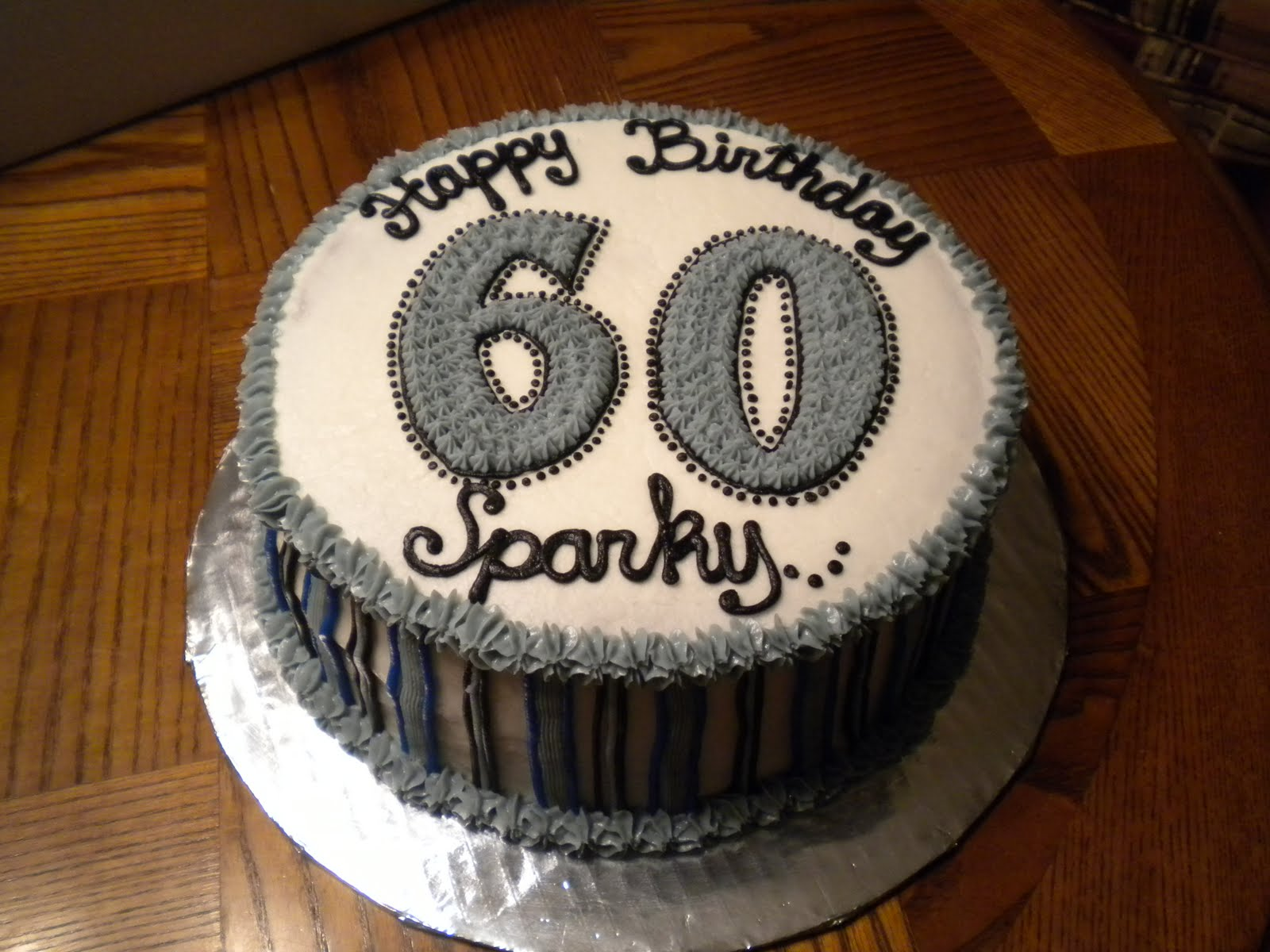 Cake Designs For 60th Birthday : 60th Birthday Cake heydanixo
